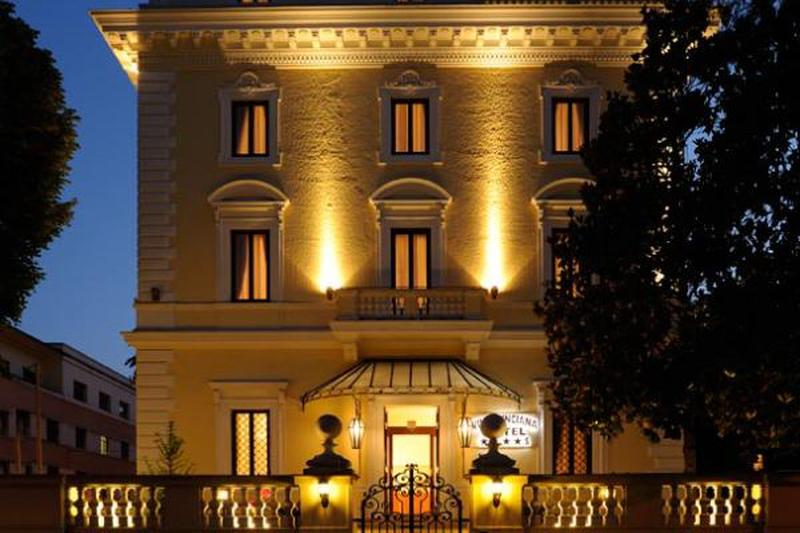 Villa Pinciana Hotel In Rom Offizielle Webseite